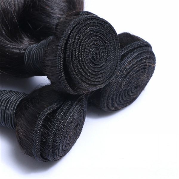 Brazilian Human Hair Bundles Unprocessed Weave Cuticle Intact Supplier In China  LM196
